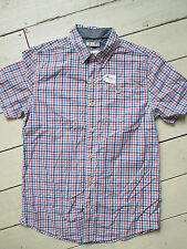 Fat Face Regular Collar Short Sleeve Cotton Men's Casual Shirts & Tops