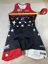 Borah teamwear womens tri triathlon suit Large L (7754-10)