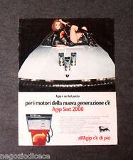 P285 - Advertising Pubblicità -1972- AGIP SINT 2000 , RAFFAELLA CARRA