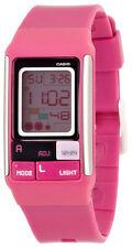 Casio Women's Poptone Digital Pink Resin Watch LDF52-4A