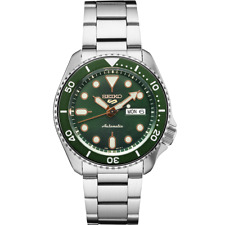 Seiko 5 Sports 24-Jewel Automatic Watch - Green