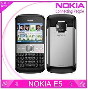 Nokia E5 Unlocked Network WIFI GPS Original Mobile Phone 3G QWERTY Keyboard