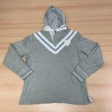 New listing Vintage Ralph Lauren Hoodie Mens Large Grey Hooded Rugby Style Sweater