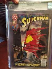 superman #75 super rare comic