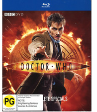 Doctor Who The Complete Specials 5 X BLURAY Set Slipcase as 2010