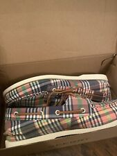 New Mens Sperry Topsider A/O 2 Eye Kb Washed Sts22433 Size 10