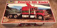 """NOS Revell Peterbilt 353 """"Alaska"""" 1/25 Model Truck Kit - RARE! - NEW/SEALED"""
