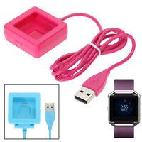 Basetta ccompatibile DOCK ricarica cradle+Cavo USB per Fitbit Blaze SmartWatch