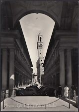 AA3905 Firenze - Gli Uffizi e Palazzo Vecchio - Cartolina postale - Postcard