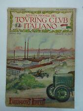 RIVISTA MENSILE DEL TOURING CLUB ITALIANO - ANNO 1916