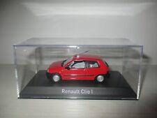 RENAULT CLIO I ROSSO NOREV SCALA 1:43