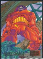 1995 DC Versus Marvel Trading Card #34 Juggernaut