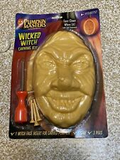 Pumpkin Masters Wicked Witch Carving Kit.