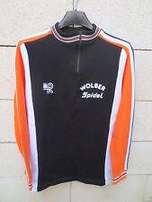 VINTAGE Maillot Sweat cycliste WOLBER SPIDEL Tour 1982 shirt jersey trikot 2 168