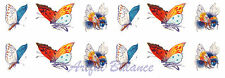 Ceramic Decals Colorful Butterfly Butterflies Bumble Bee Insect Bugs