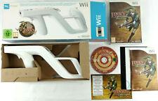 Coffret Zelda Link's Crossbow Training Jeu et Wii Zapper  Envoi rapide et suivi