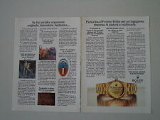 advertising Pubblicità 1982 ROLEX