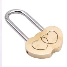 Personalised Engraved Love Heart Padlock Wedding Locks Anniversary Couples Gifts