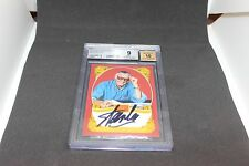 Stan Lee Signed Historic Signatures Panini Card BGS 9 Autograph Grade 10 STL 1B
