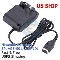 Nintendo DS NDS GBA Gameboy Advance SP Home Wall Travel Charger AC Adapter