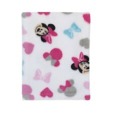 "Disney Minnie Mouse Baby Blanket 30"" x 40"" - Girl"