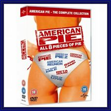 American Pie 1 to 8 BOXSET - DVD Fast Post for Australia Top SEL