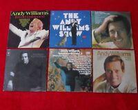 LP Sammlung 6 LP's ANDY WILLIAMS - Schallplatten Vinyl Schallplattensammlung