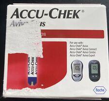 100 Accu-Chek Aviva Plus Test Strips (100ct.) Exp. 10/2020 Dinged