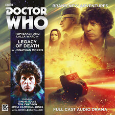 DOCTOR WHO Big Finish Audio CD Tom Baker 4th Doctor #5.4 LEGACY OF DEATH