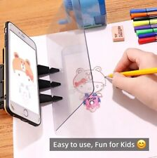 Kids Children Optical Drawing Projector Painting Tracing Board Sketch Drawing AA