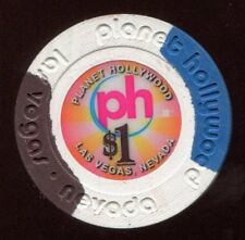 $1 Las Vegas Planet Hollywood Small Inlay Casino Chip - UNCIRCULATED