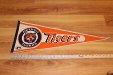Vintage Detroit Tigers MLB Baseball full size Felt Pennant 80's