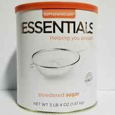 Emergency Essentials Freeze Dried Food Powdered Sugar #10 Can