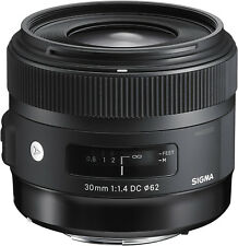 Sigma 30mm F1.4 Art DC HSM Lens for Canon EF (Sigma 4 Year USA Warranty)