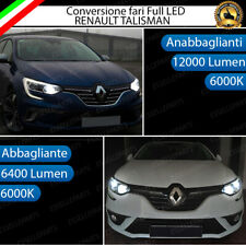 CONVERSIONE FULL LED RENAULT TALISMAN KIT MONO LED H7 + H7 CANBUS BIANCO