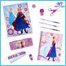 Disney Frozen Stationery Supply Kit feat Anna & Elsa pencil case pencils eraser