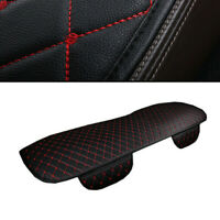 1PC Black & Red Car Seat Cover Cushions PU Leather For Car Interior Accessories