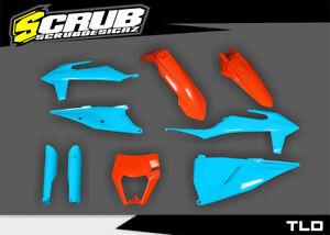 Plastics KTM EXC EXC-f 125 250 300 350 450 500 2020 2021 2022 SCRUB