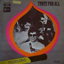 "The Peddlers Three for All 1970 LP 12""33rpm UK very rare stereo vinyl record(vg)"