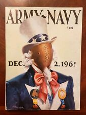 1961 Army Black Knights vs Navy Midshipmen Official Program Army-Navy Game