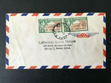 JAMAICA c1950s AIR MAIL COVER TO USA