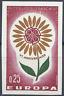 FRANKREICH EUROPA BLUMEN NR.1430 BRIEFMARKE NICHT GEZAHNT IMPERF 1964 NEUF MNH