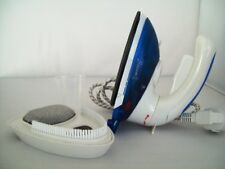 Portable Combo Steam Iron and Travel Brush with 2 Pin Euro Plug