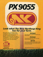 1988 Print Ad of Northrup King NK PX9055 Hybrid Corn Seed
