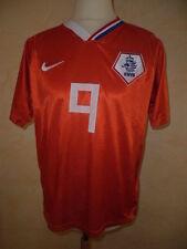 Maillot de football vintage équipe de HOLLANDE KNVB N°9  V. NISTELROOY  Taille S
