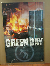Green Day Stage rock n roll group original Vintage 2001 Poster 2500