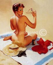 Shell Game Vintage Gil Elvgren Vintage Pinup Art Poster 18x24