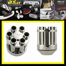 Chrome revolver Cylinder M/T MANUAL SHIFT KNOB Lexus Fiat Mini G35