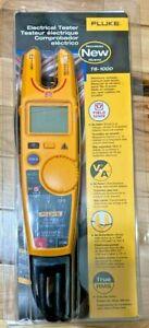 Fluke T6-1000 pro Electrical Tester Fieldsense 1000V AC/DC True RMS&Fluke case