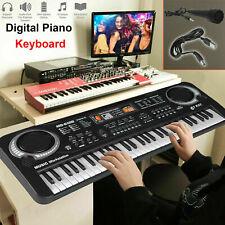 More details for musical keyboard piano 61 keys electronic electric digital beginner kids set